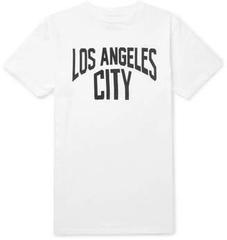 Velva Sheen Slim-Fit Printed Slub Cotton-Jersey T-Shirt