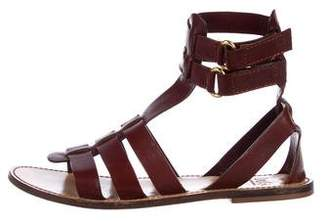 Dolce & Gabbana Leather Multistrap Sandals