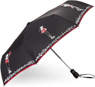 Moschino Olive Oyl Letters Umbrella