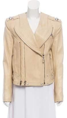Balmain Moto Leather Jacket