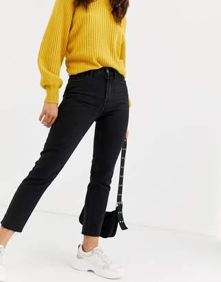 Only raw edge regular straight leg jean