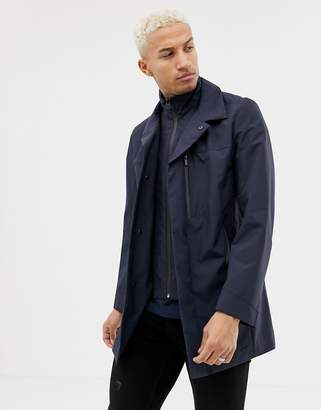 HUGO Barelto insert jacket in navy