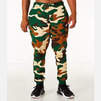 Nike Men's Sportswear Camo Cuffed Jogger Pants