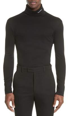Calvin Klein Jersey Turtleneck T-Shirt