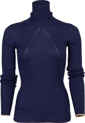 Victoria Beckham Slim Polo Neck Sweater