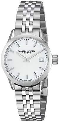 Raymond Weil Women's 'Freelancer' Quartz Stainless Steel Dress Watch