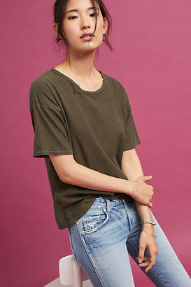Citizens of Humanity Crew Neck Tee $78 thestylecure.com