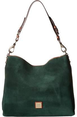 Dooney & Bourke Suede Extra Large Courtney Sac Handbags