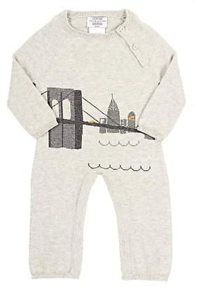 Lucky Jade Infants' NYC Skyline Coverall