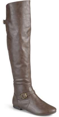 Co Brinley Womens Buckle Tall Round Toe Riding Boots