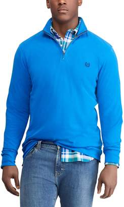 Chaps Big & Tall Regular-Fit Stretch Quarter-Zip Pullover