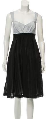 Mantu Sleeveless Knee-Length Dress w/ Tags