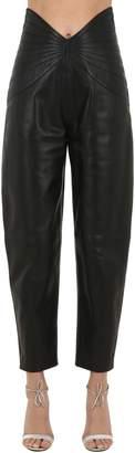 ATTICO Leather Pants