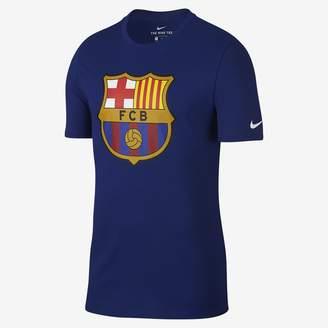 Nike FC Barcelona Crest Men's T-Shirt