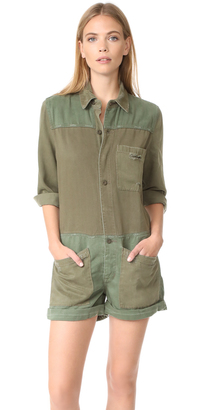 Hudson Izzy Utility Romper $295 thestylecure.com
