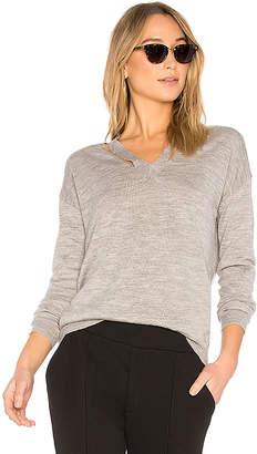 AVEC LES FILLES V Neck Sweater