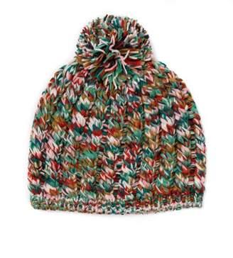 Missoni Knit Hat with Pom Pom