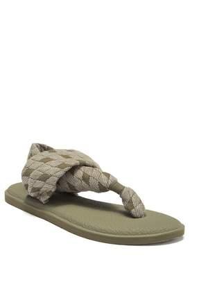 Sanuk Yoga Quilted Sling Sandal