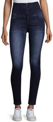 Blue Spice High Waist Corsett Skinny Jean-Juniors