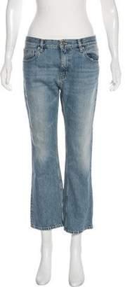 IRO Fitté Mid-Rise Straight-Leg Jeans