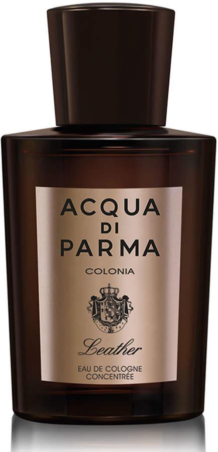 Acqua Di Parma Colonia Leather Eau de Cologne Concentree, 3.4 oz./ 100 mL