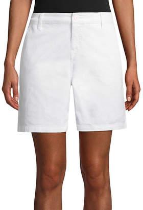 ST. JOHN'S BAY Twill Chino Shorts