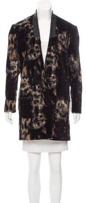 Jeremy Laing Printed Open Front Jacket