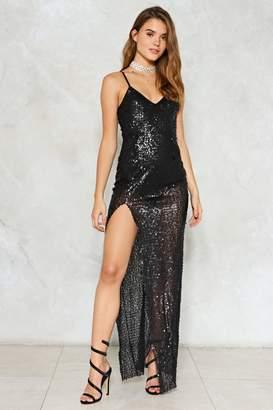Nasty Gal Rhythm of the Night Sequin Dress