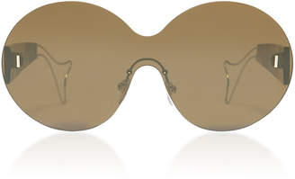 Philippe Chevallier Whale Rimless Sunglasses