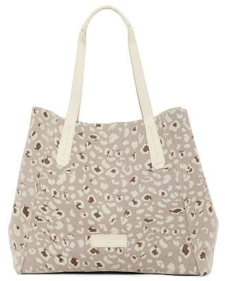 Liebeskind Berlin Niigata Leopard Print Leather Reversible Tote