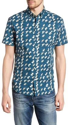 Bonobos Riviera Slim Fit Cherry Blossom Print Sport Shirt