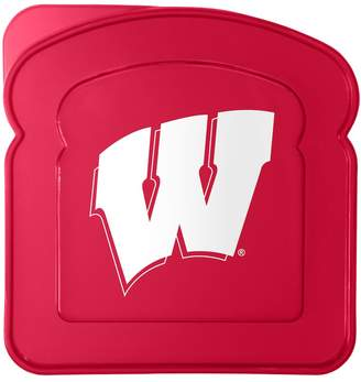 NCAA Boelter Wisconsin Badgers 4-Pack Sandwich Container