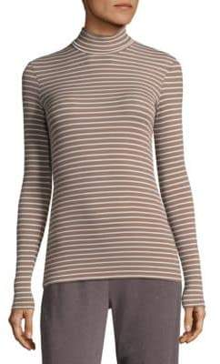 ATM Anthony Thomas Melillo Ribbed Mockneck Sweater