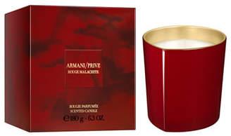 Giorgio Armani Limited Edition Rouge Malachite Candle, 6.3 oz./ 180 g