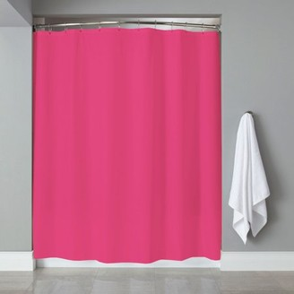 At Walmart Popular Bath Products PEVA Shower Curtain Liner W Magnets Solid Color 70 X