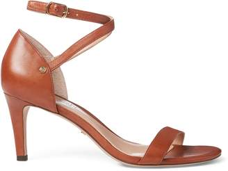 Ralph Lauren Glinda Leather Sandal
