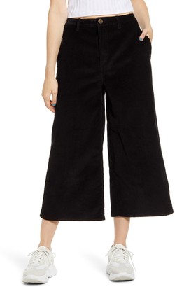 LIRA Sawyer Corduroy Wide Leg Crop Pants
