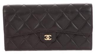 Chanel 2017 Quilted Continental Wallet