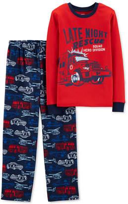 Carter's Little & Big Boys 2-Pc. Late Night Rescue Pajama Set