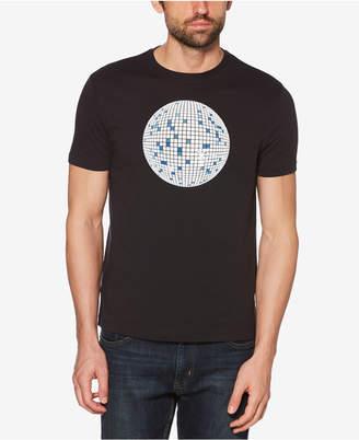 Original Penguin Men's Disco Pete Glow-In-The-Dark Graphic T-Shirt