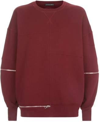 Alexander McQueen Zip Detail Sweater