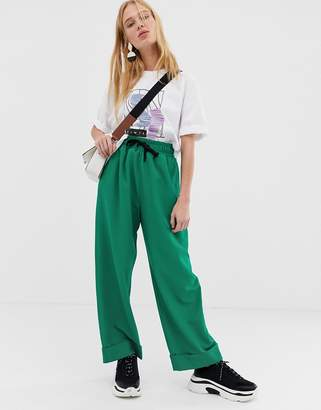 Asos casual crepe trousers
