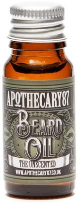 Apothecary 87 Beard Oil The Unscented 10ml