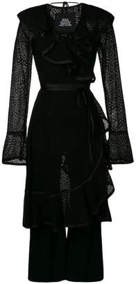 Marc Jacobs layered ruffle jumpsuit