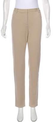 Magaschoni High-Rise Straight-Leg Pants w/ Tags
