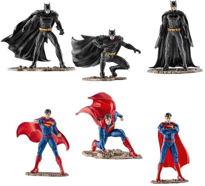 Schleich Superman vs Batman Set Toy Figure