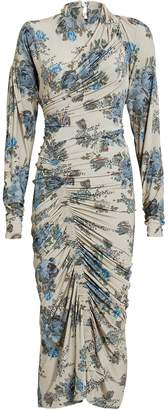 Preen by Thornton Bregazzi Averie Gathered Crepe Floral Dress