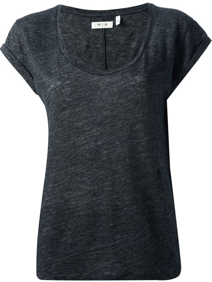 MiH Jeans scoop neck t-shirt