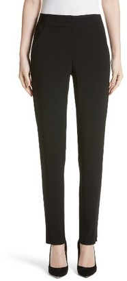Women's Armani Collezioni Stretch Wool Pants $495 thestylecure.com