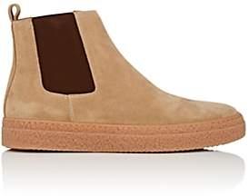 Barneys New York Men's Suede Chelsea Sneakers - Sand